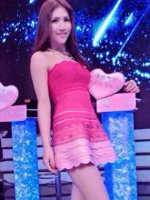 混血Showgirl潘云香艳迷人美照