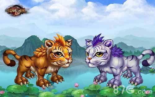 格斗江湖宠物原画首爆 萌萌哒宠物是最好的小伙伴
