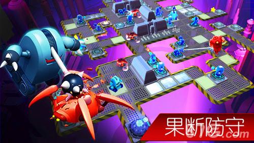 機器人小隊:能攻能守的塔防截圖1