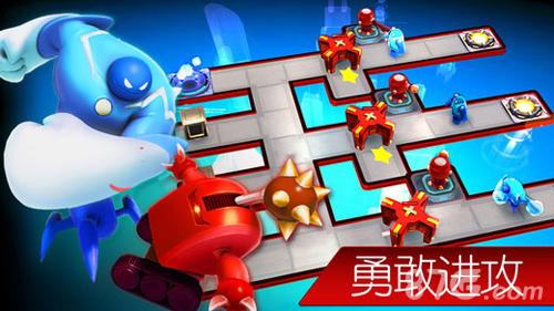機器人小隊:能攻能守的塔防截圖4