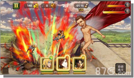 《进击的巨人OL》游戏玩法揭秘 训练班封测开启