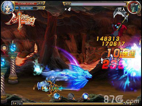 剑魂之刃战斗截图2