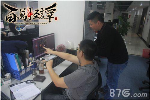 图3  策划向玩家介绍游戏即将更新的内容