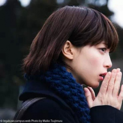 日本佛教大学校花气质清纯写真 唯美侧脸美哭你