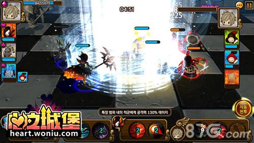 《心之城堡》战斗画面