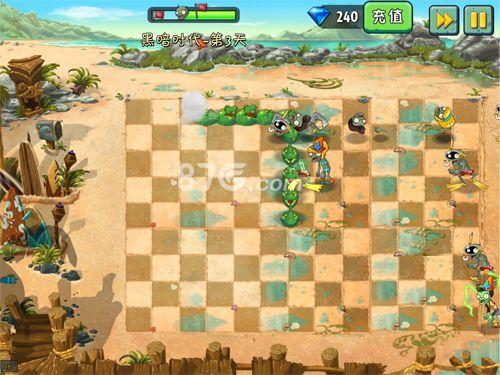 植物大战僵尸2巨浪沙滩截图5