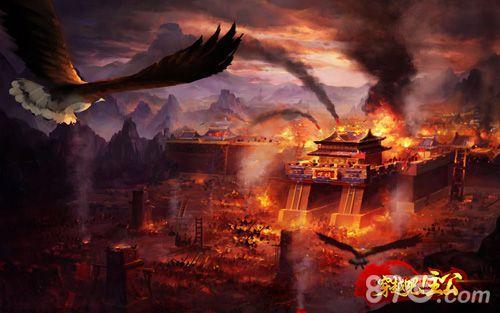 穿越吧!主公场景原画——垓下之战