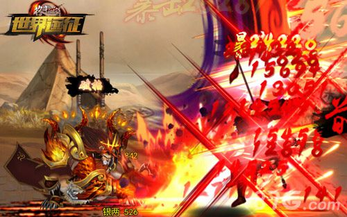 《格斗江湖》全新玩法世界征程战斗截图