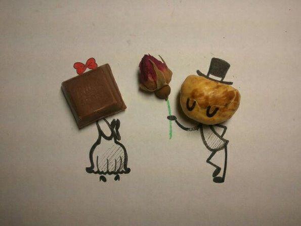 吃货创意搞笑图片 吃货的世界你懂吗