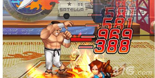 拳皇98终极之战ol大门五郎战斗截图