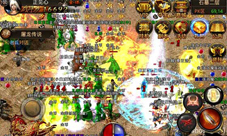 热血传奇手机版游戏截图 千人同屏热血大战