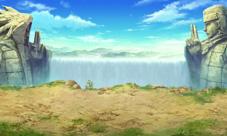 火影忍者手游场景原画二 决战之谷完美来袭