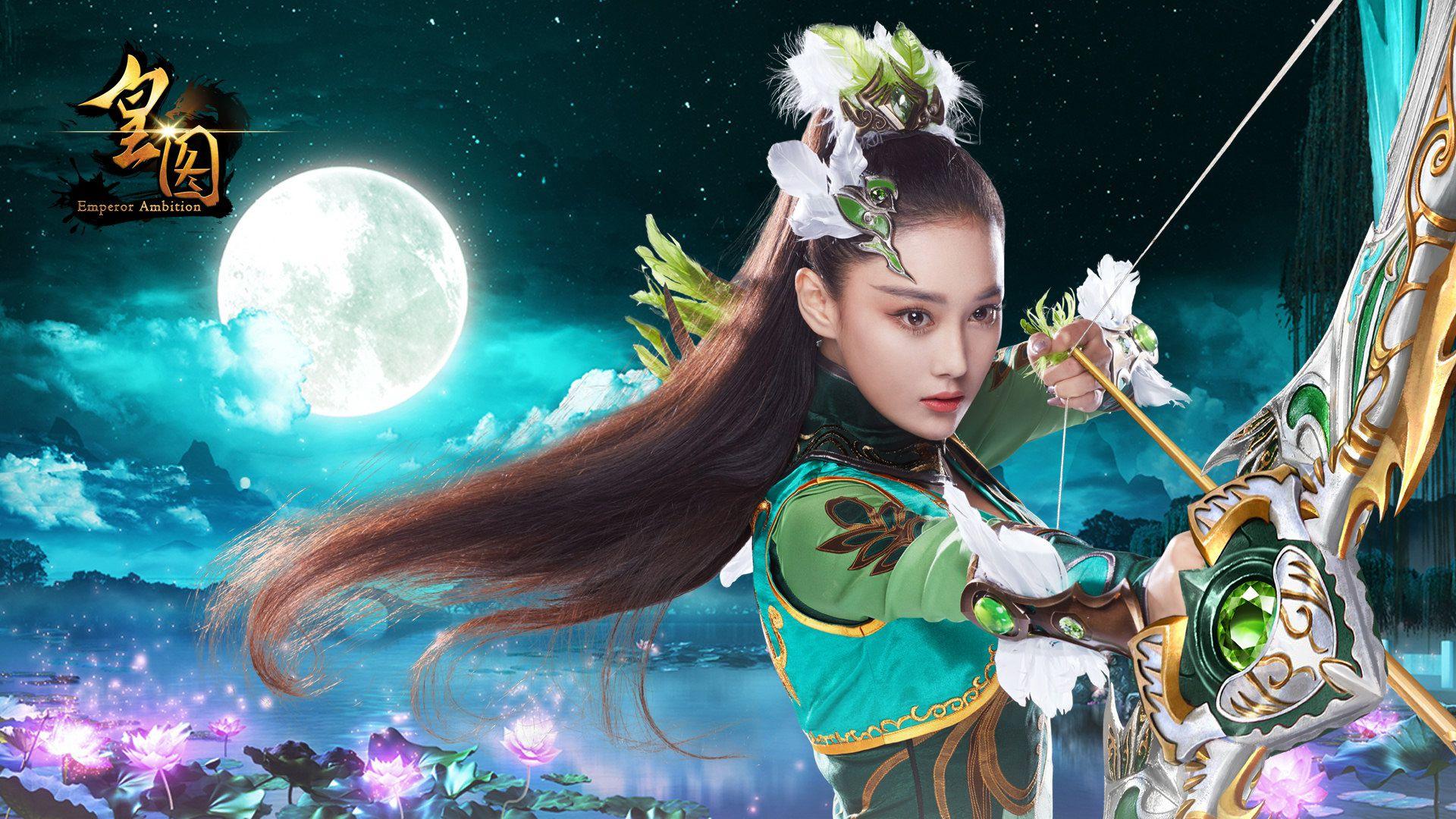 《皇图》高清女神壁纸放送 女神张馨予来袭