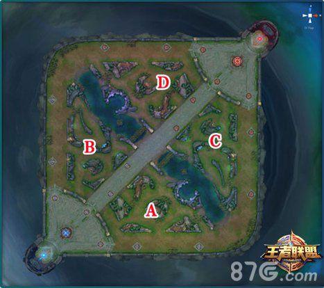 王者荣耀5v5野区分布解析 王者荣耀5v5地图介绍