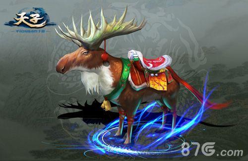 喜迎圣诞 《天子》手游新坐骑踏雪而来