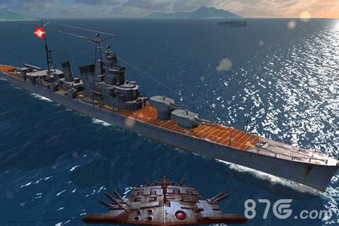 """《雷霆海战》""""青叶""""级重巡洋舰"""