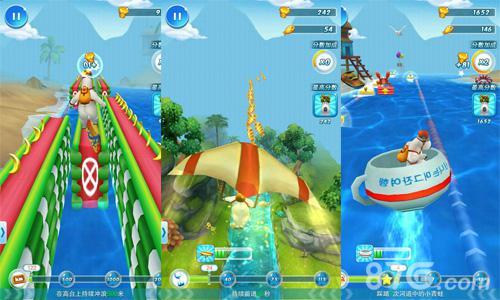 游戏资讯 > 超人气3d冲浪手游《倒霉熊》