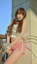双马尾萝莉室外写真 被束缚的美女俏皮萌妹子