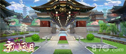 京门风月游戏场景原画