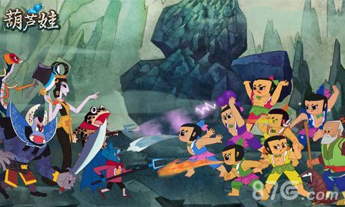 """""""蛇精重兵阻挡葫芦娃"""",甚至动画中出场次数不多的妹子""""小蝴蝶""""也将在"""