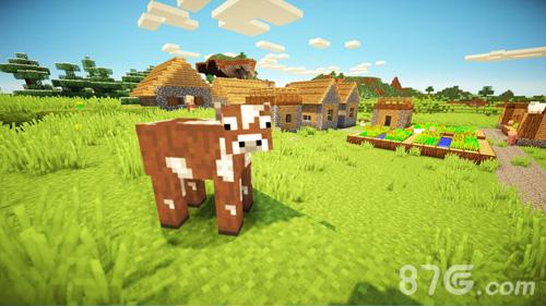 我的世界游戏画面图片