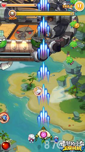 愤怒的小鸟:王牌战机游戏截图3