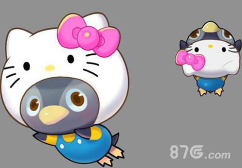 全民飞机大战kitty企鹅怎样