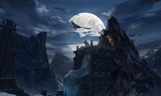 剑与魔法场景原画曝光 次世代唯美世界等你来