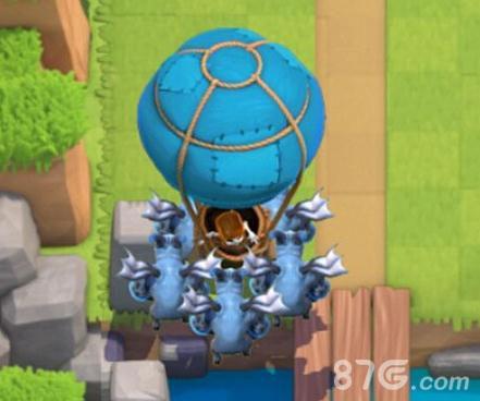 皇室战争亡灵气球流卡组推荐