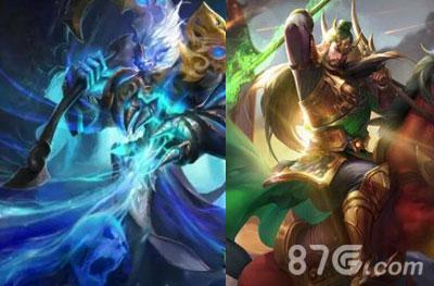 钟馗和关羽对比攻略  在王者荣耀中钟馗是最新上线的英雄,那么作为老