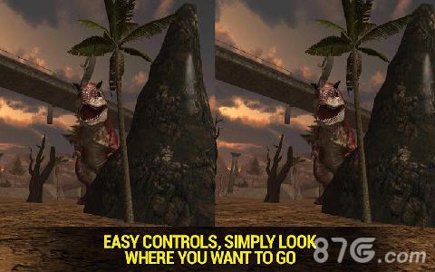 重返侏罗纪VR截图4