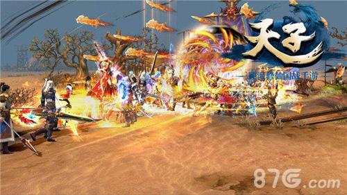 天子手游战斗截图2