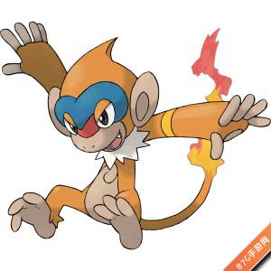 猛火猴属性图鉴  猛火猴是口袋妖怪复刻小火猴的进化型!