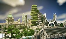 我的世界玩家建筑設想圖 我心目中的世界