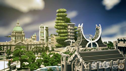 我的世界玩家建筑设想图