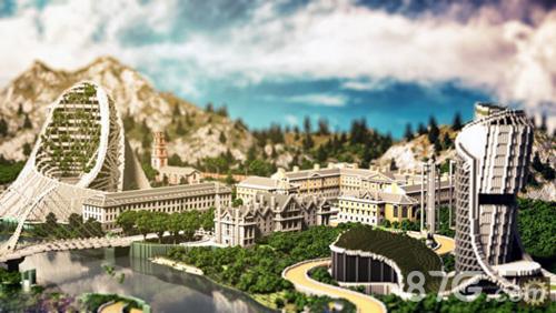 我的世界玩家建筑设想图2