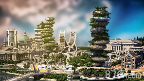我的世界玩家建筑设想图3