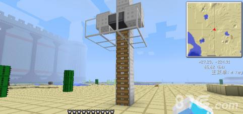我的世界做电梯3