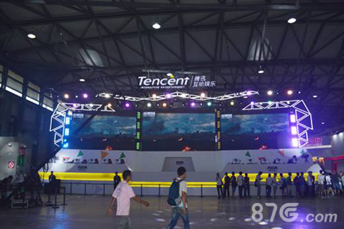 腾讯2016ChinaJoy展台