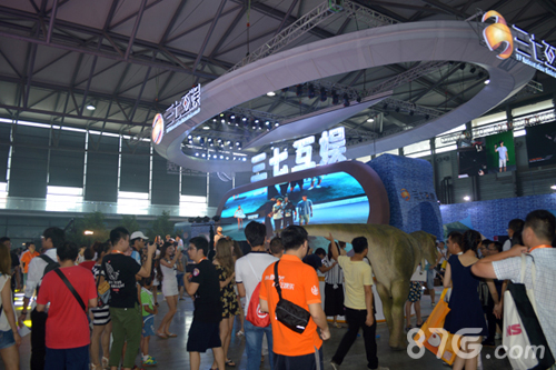 三七互娱2016ChinaJoy展台