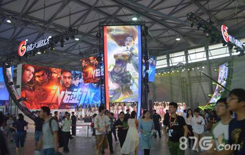 盛大游戏2016ChinaJoy展台