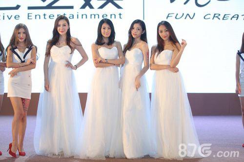 三七互娱展台Showgirl
