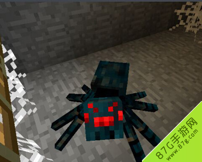 我的世界洞穴蜘蛛图鉴 洞穴蜘蛛属性详解图片