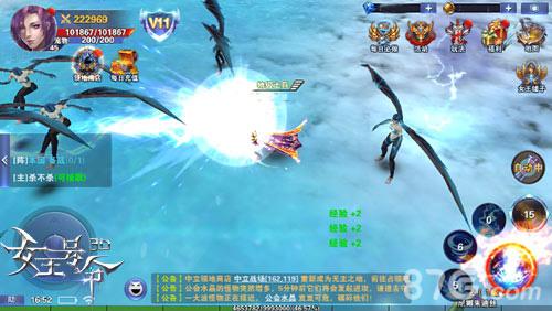 《女王号令》新版荣誉玩法来袭 护国神翼9377