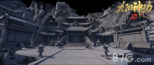 《九阳神功:起源》建模展示