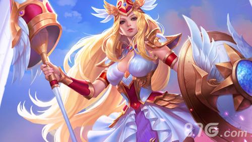 王者荣耀雅典娜战争女神电脑壁纸