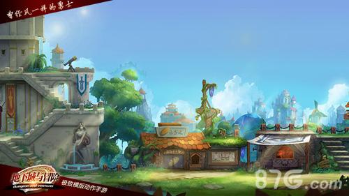 地下城与冒险游戏宣传图2