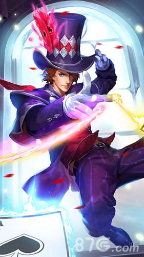 王者荣耀狄仁杰魔术师手机壁纸