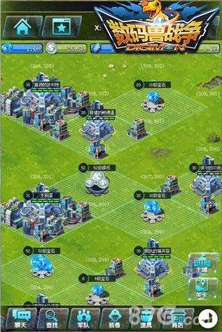 数码兽战争游戏截图2