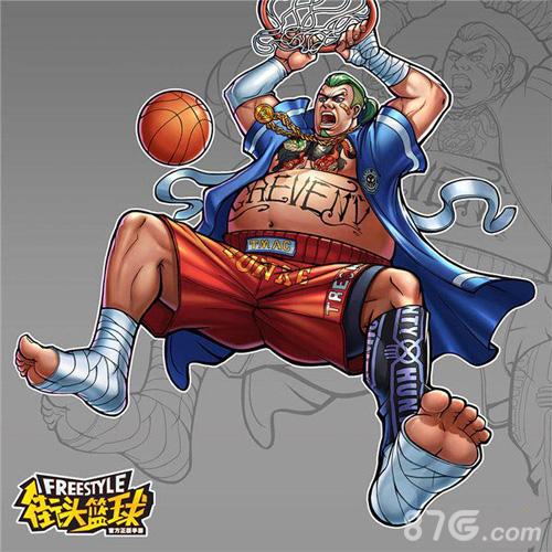街头篮球手游C大龙